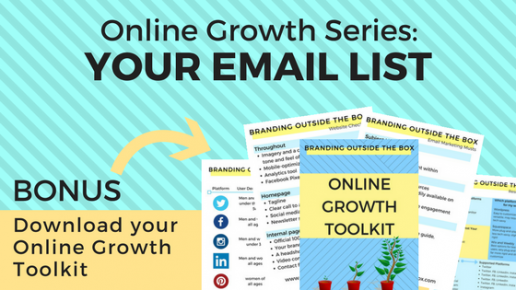 Online Growth Series: Your Email List