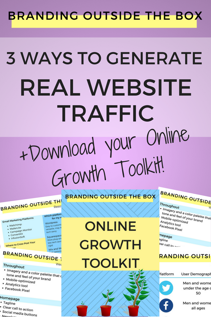 Growing Your Online Following Website