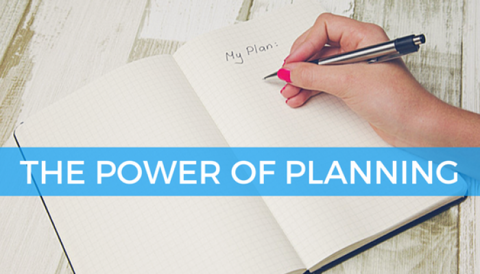 The Power of Planning