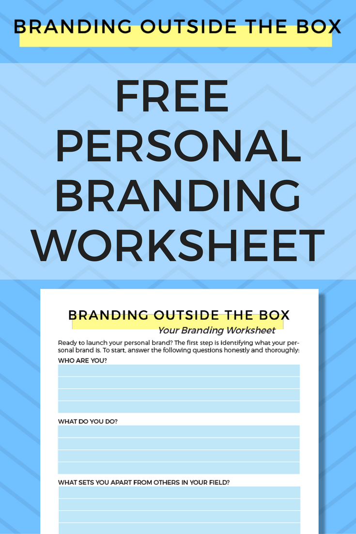 Personal Brand Worksheet