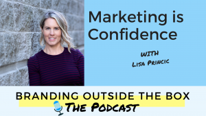 branding outside the box podcast interview with lisa princic