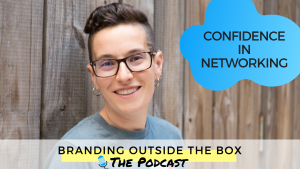 Confidence in Networking on the Branding Outside the Box podcast with Dana Kaye